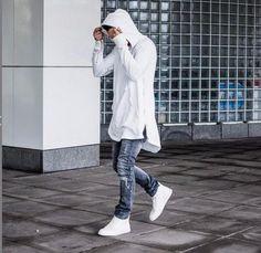 Hip Hop Hoodies Full Sleeve Kangaroo Pocket Side Street Wear
