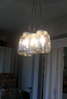 TAIRONA DISEÑO: LAmpara frascos EStilo PiLar 2012