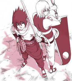 Sasuke and Suietsu