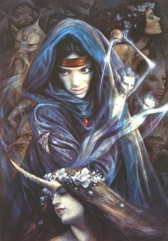 hannah by Brian Froud