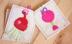 Love Monsters - completed quiet book and monster. $46.00, via Etsy.
