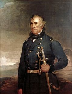 ZACHARY TAYLOR (1784--1850) 12th PRESIDENT 1849--1850  FF) When Taylor and Fillmore were elected it was the first time all states voted for the President & Vice President on the same day.