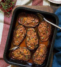 Babushka Eggplants (Georgian-Style Eggplants Stuffed with Carrot, Parsnip & Capsicum) – Photographer Sydney