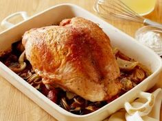 Roast Turkey Breast with Gravy Recipe   Food Network Kitchen   Food Network