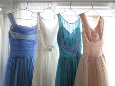 #vintage 50s dresses ♥