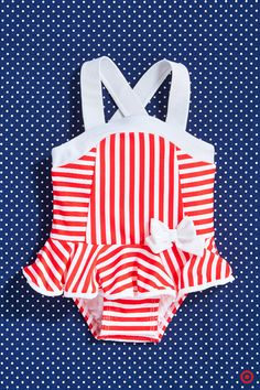 A sweet little swimsuit with ruffles and a bow? Get your baby girl… Baby Girl Swimsuit, Baby Girl Romper, My Baby Girl, Teen Girl Fashion, Kids Fashion, Toddler Outfits, Kids Outfits, Toddler Girl, Baby Kids