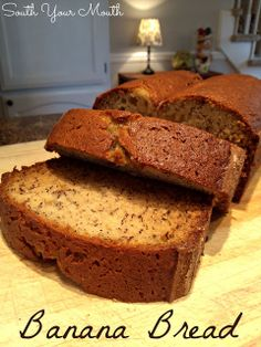 Banana Bread (super easy recipe!)