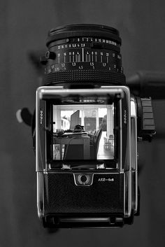 acute mate screen of a Hasselblad Nikon