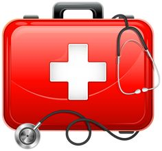 Medical Bag and Stethoscope PNG Clipart