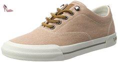 Tommy Hilfiger de Sm Wmn Y1285armouth 1d, Sneakers Basses Femme, Rose (Dusty Rose 502), 37 EU - Chaussures tommy hilfiger (*Partner-Link)