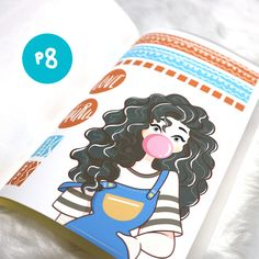 Art | Cute Art | Planner Sticker | Princess Stickers | Affordable Stickers | Erin Condren Horizontal Stickers | Erin Condren Vertical Stickers Stickers | Etsy Stickers | Planner Stickers | Cute Stickers | Cute Planner Stickers | Affordable Planner Stickers | Kawaii Stickers | Kawaii Planner Stickers | PaperDollzCo | PaperDollzCo Stickers | Girl Planner Sticker |Cute girl Planner Sticker | Sticker Book Cute Stickers, Kawaii Stickers, Girl Themes, Curly Girl, Erin Condren, Sticker Paper, Planner Stickers, Kawaii Planner, Dolls