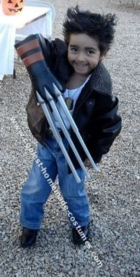 Homemade Wolverine Halloween Costume My son wanted to wear a Wolverine costume for Halloween this year. However he specified that he wanted to be dressed ...  sc 1 st  Pinterest & DIY X-Men Wolverine Logan Costume | Pinterest | Logan Halloween ...