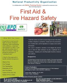 Training on First Aid and Fire Hazard Safety at NPO Office, Model.VenueCity, - Ref - 322