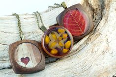 wooden bezel | found these gorgeous wooden bezels at an Etsy store called Art Base ...