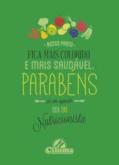 Ação de Endomarketing Ciluma - Dia do nutricionista