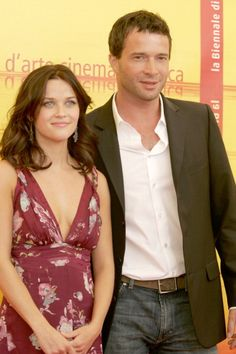 Actress Reese Witherspoon, and Actor James Purefoy attend the 'Vanity Fair' Photocall at the 61st Venice Film Festival in Venice, Italy on (September 5, 2004)