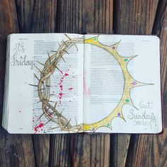 It's Friday, but Sunday's coming! 🙌 so thankful for what Jesus did for me. Bible Study Notebook, Bible Study Journal, Scripture Study, Bible Art, Bible Drawing, Bible Doodling, Bible Prayers, Bible Scriptures, Art Journaling