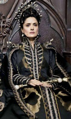"Salma Hayek - ""Tale of Tales"" (2015) - Costume designer : Massimo Cantini…"