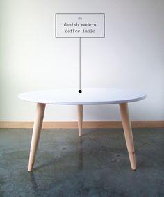 DIY Danish Inspired Coffee Table