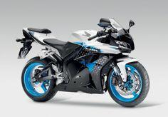 2009 Honda CBR600RR Blue and White