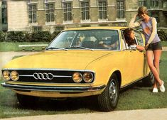 Audi introduced the new 100 Coupe S model two years after car's world premiere in 1968. Designed as a fastback coupe, this new v...