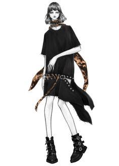 ISSA GRIMM ilustración de moda | diseños | hallazgos del vintage