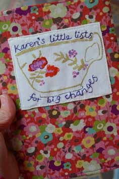 Ordered by my friend Karen, to make her To Do Lists seem more enticing...