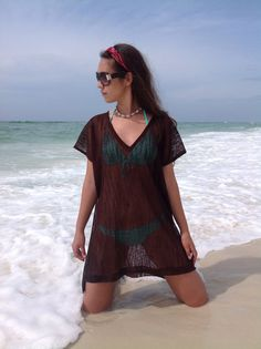 Beach cover up kaftan caftan beachwear resort by YourBeachHouse