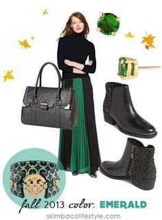 Color trend for fall 2013: Emerald green