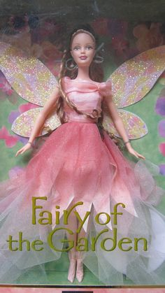 FAIRY OF THE GARDEN 2000 Barbie Collector Doll Enchanted World 2nd Faeries