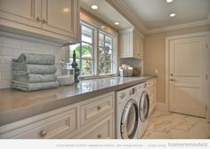 Creative design and paint color laundry room ideas Monochromatic laundry room ideas – Home Remodeling Ideas