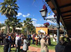 El día de Andalucía lo celebramos con la III Edición Contigo de Boda. Hacienda Al-Yamanah. Sanlucar la Mayor. Sevilla.