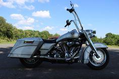 2002 Harley-Davidson® FLHRCI Road King® Classic (Silver - Brushed Aluminum), Florence, Alabama (462485) | ChopperExchange.com