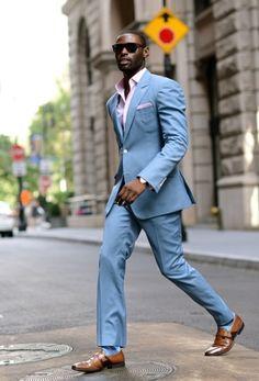 Image result for mens light blue suit