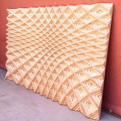 This art piece explores parametric expression onto plywood. Depth of the layered plywood allows for a multitude of differing tool paths leaving the material with unique textures.