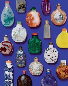 "beatpie: ""antique perfume bottles """