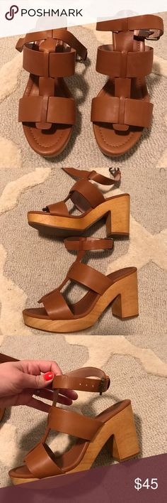 Madewell- the Irving sandal Brand new, never worn! Madewell Shoes Heels