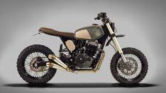 Custom Honda FMX 650 par Ton-up Garage - Journal du Design