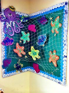 Ocean bulletin board