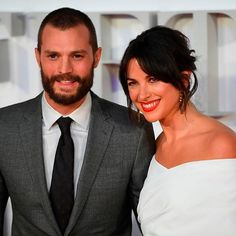 Jamie Dornan and Amelia (Warner) Dornan attend the London Premiere of Fifty Shades  THEY ARE A BEAUTIFUL COUPLE