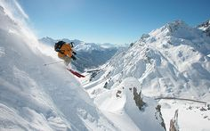Information and guides for the Lech slopes, lifts, terrain parks, and   off-piste areas