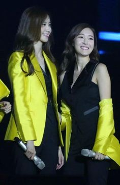 Yoona and Jessic