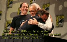 did you noticed its robert downey jr.  Praise from the Iron Man ;-) subscribe to aboutstarslife.blogspot.com and get the latest news of stars in your inbox.