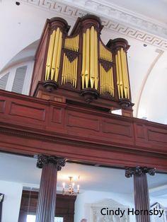 Pipe Organ at St. Michael's Episcopal Church, Charleston, SC