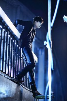 "Dorama ""W - two worlds"", Kang Chul,  Lee Jong Suk & Han Hyo Joo"