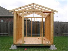 how to build a garden shed from scratch | Quick Woodworking Projects