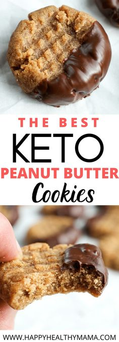 The Best Keto dessert ever these Keto peanut Butter Cookies are so simple and easy to make with just 4 pantry ingredients and ready in 20 minutes! You're going to absolutely love this keto, low carb, vegan, sugar free cookie. #vegan #keto #lowcarb #sugarfree #peanutbutter