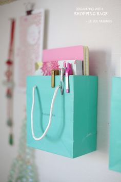 Plastic Bag Holder - Easy DIY | Plastic bag holders and Plastic ...