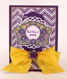 Best Wishes card designed by Sheri Holt
