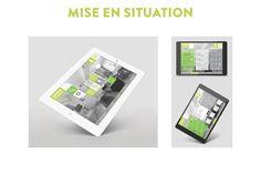 Réalisation du webdesign pour une application de domotique à destination de propriétaire d'appartements.